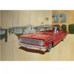 Maquette voiture: Ford Falcon sprint hardtop 1964