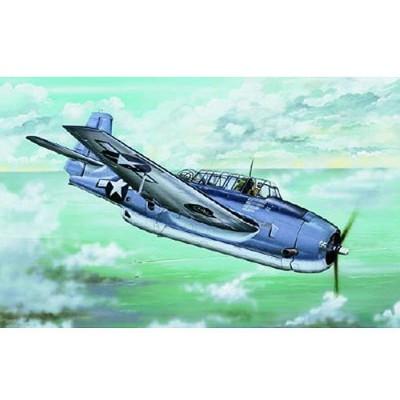 Maquette avion: Grumann TBF-1C Avenger 1942 - Trumpeter-TR02233