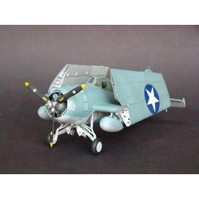 Maquette avion: Grumman F4F-4 Wildcat 1942 - Trumpeter-TR02223