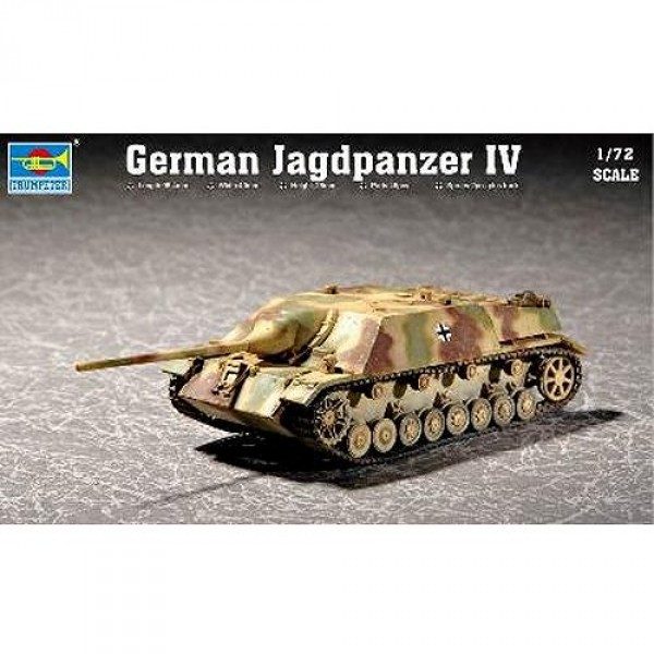 Maquette Char: JagdPanzer IV - Trumpeter-TR07262