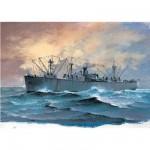 Maquette bateau: Liberty Ship SS Jeremiah O'Brien 1944