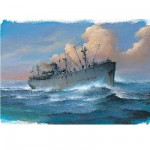 Maquette bateau : Liberty Ship SS John W. Brown - 1944