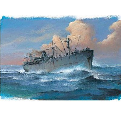 Maquette bateau : Liberty Ship SS John W. Brown - 1944 - Trumpeter-TR05756