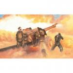 Maquette Accessoires Militaires : Canon Howitzer soviétique D-74 122mm