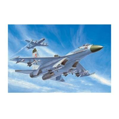 Maquette Avion : Chasseur russe Su-27 - Trumpeter-TR01661
