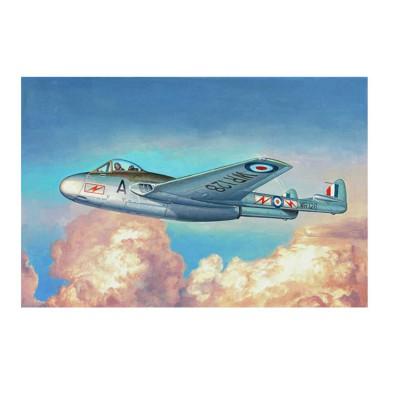 Maquette Avion : De Havilland Vampire FB.Mk.9 - Trumpeter-TR02875