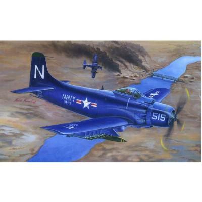 Maquette avion : Douglas A-1D AD-4 Skyraider 1953 - Trumpeter-TR02252