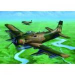 Maquette Avion : DOUGLAS A-1J AD-7