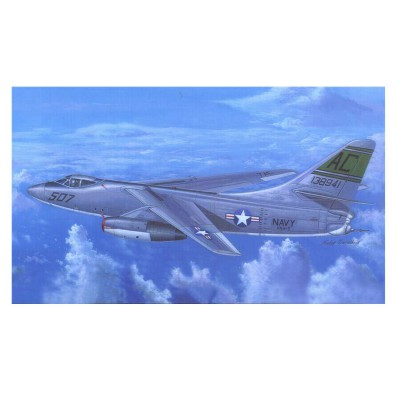 Maquette Avion : Douglas A-3D-2 Skywarrior bombardier stratégique US Navy - Trumpeter-TR02868
