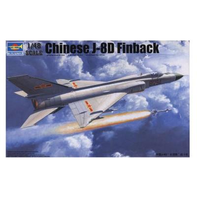 Maquette Avion : J-8 IID Chasseur Force aérienne Chine Populaire - Trumpeter-TR02846