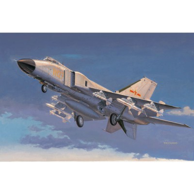 Maquette Avion : J-8 IIF Chasseur Force Aérienne Chine Populaire (2013) - Trumpeter-TR02847