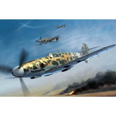 Maquette Avion : Messerschmitt BF 109G-2-Trop - Trumpeter-TR02295