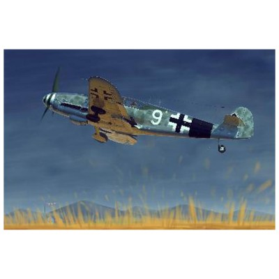 Maquette avion : Messerschmitt BF-109G10 1944 - Trumpeter-TR02298