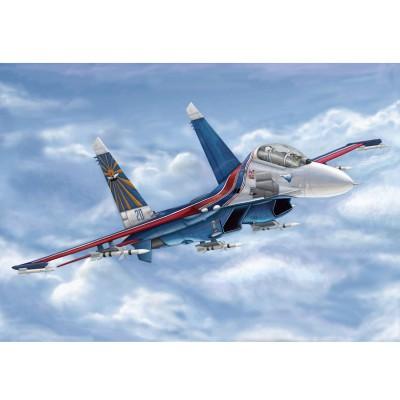 Maquette Avion : SU-27UB Flanker C russe - Trumpeter-TR03916