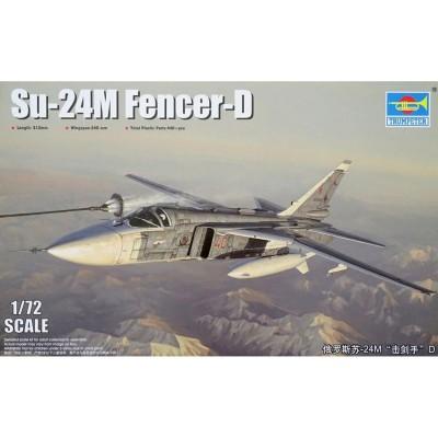 Maquette avion : Sukhoi 24M Fencer-D - Trumpeter-TR01673