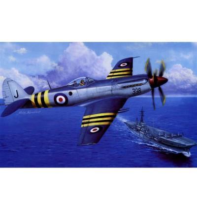 Maquette Avion : Supermarine Seafang F.Mk.32 - Trumpeter-TR02851