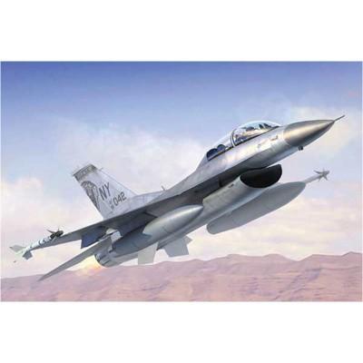 Maquette Avion Militaire : F-16 B/D Fighting Falcon Block - Trumpeter-TR03920