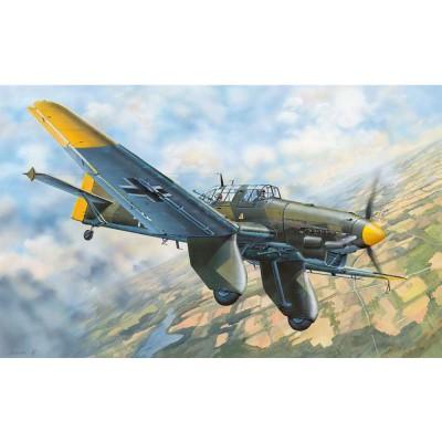 Maquette Avion Militaire : Junkers JU-87A Stuka - Trumpeter-TR03213