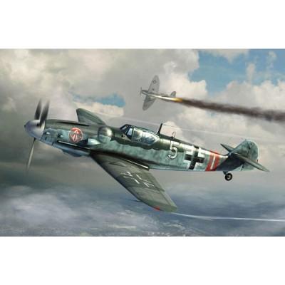 Maquette Avion Militaire : Messerschmitt BF-109G-6 - Trumpeter-TR02297