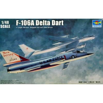 Maquette Avion Militaire : US F-106A Delta Dart - Trumpeter-TR02891