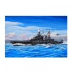 Maquette bateau : Cuirassé USS BB-46 Maryland 1941