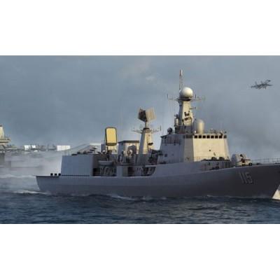 Maquette Bateau : Destroyer Ante Aérien Marine Populaire Chinoise TYPE 051C - Trumpeter-TR03619
