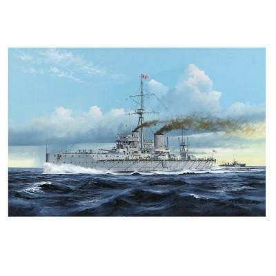 Maquette bateau : HMS Dreadnought Cuirassé britannique 1907 - Trumpeter-TR05328