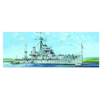 Maquette bateau : HMS Dreadnought Cuirassé britannique 1915 - Trumpeter-TR05329