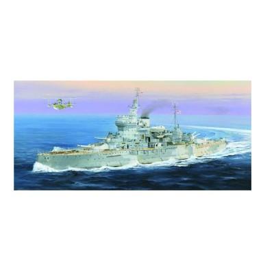 Maquette bateau : HMS Warspite cuirassé britannique - Trumpeter-TR05325