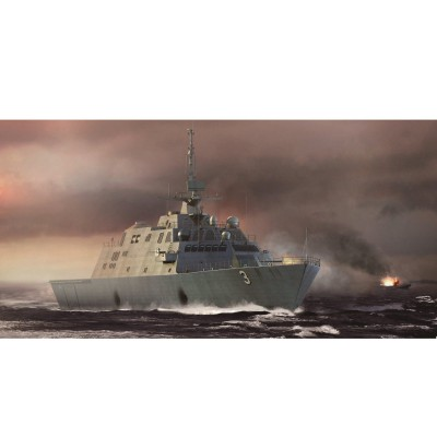 Maquette bateau : USS Fort Worth LCS-3 - Trumpeter-TR04553