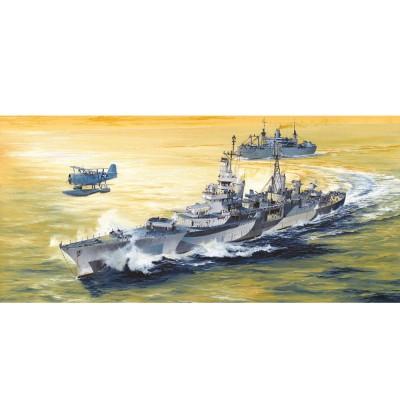 Maquette bateau : USS Indianapolis CA-35 1944 - Trumpeter-TR05327