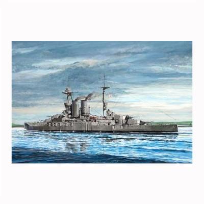 Maquette bateau HMS WARSPITE 1915 - Trumpeter-TR05780
