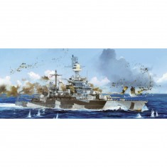 Maquette Bateau Militaire : Cuirasse USS Colorado BB-45 1944