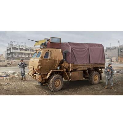 Maquette Camion Cargo US M1078 LMTV (Armor Cab) - Trumpeter-TR01009
