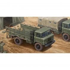 Maquette Camion Militaire : Camion Léger Russe Gaz-66