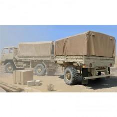 Maquette Camion Militaire : Remorque Cargo US M1082 LMTV