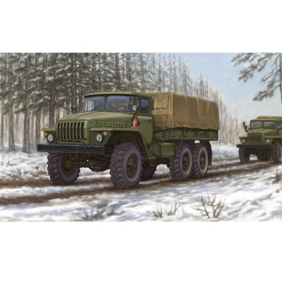 Maquette Camion russe URAL-4320 - Trumpeter-TR01012