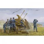 Maquette Canon anti aérien Allemand : FlaK 43 3.7cm ZWILLING