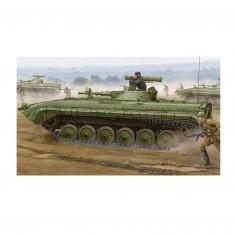 Maquette Char : BMP-1 IFV soviétique modèle 1976 avec missile Sagger