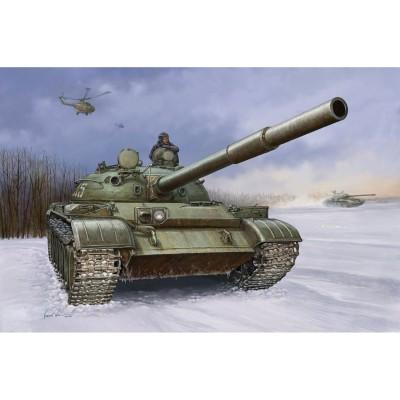 Maquette Char : Char moyen soviétique T-62 MOD. 1960 - Trumpeter-TR01546