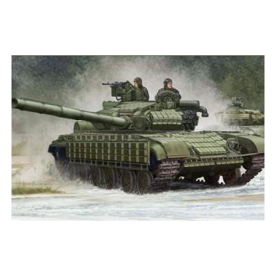 Maquette Char : Char moyen Soviétique T-64BV Mod (1985) - Trumpeter-TR05522