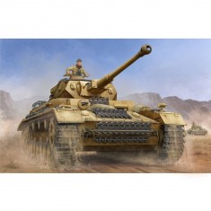 Maquette char : German Pzkpfw IV Ausf.F2 Medium