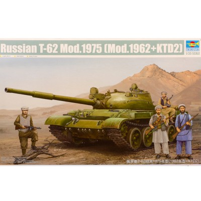 Maquette char : Russian T-62 1965 - Trumpeter-TR01551