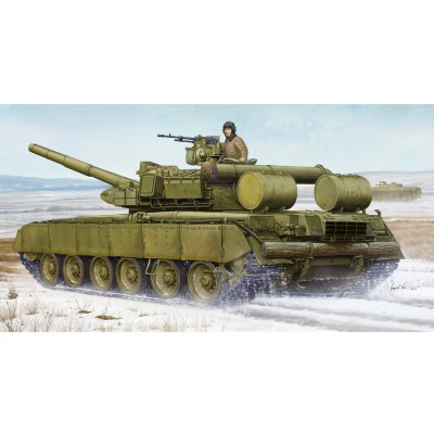 Maquette char moyen russe T-80BVD MBT - Trumpeter-TR05581