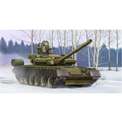 Maquette char russe T-80BV modèle 1990 - Trumpeter-TR05566