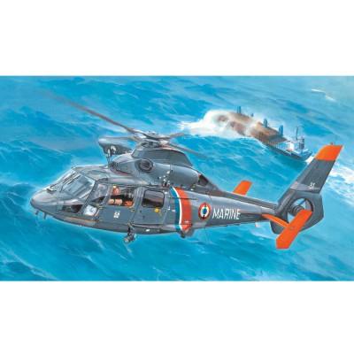 Maquette Hélicoptère : AS365 N2 Dauphin 2 - Trumpeter-TR05106