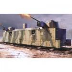 Maquette Matériel Militaire : Wagon blindé soviétique type PL-37