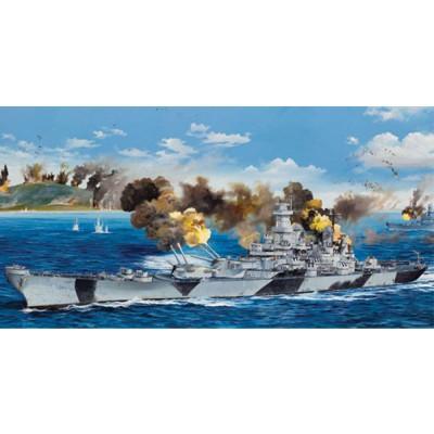 Maquette Navire : Cuirassé USS BB-61