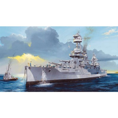 Maquette Navire : Cuirassier US BB-34 USS New-York - Trumpeter-TR05339