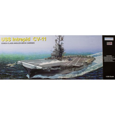 Maquette Porte-Avion : USS Intrepid CV-11 1969 - Trumpeter-TR64008